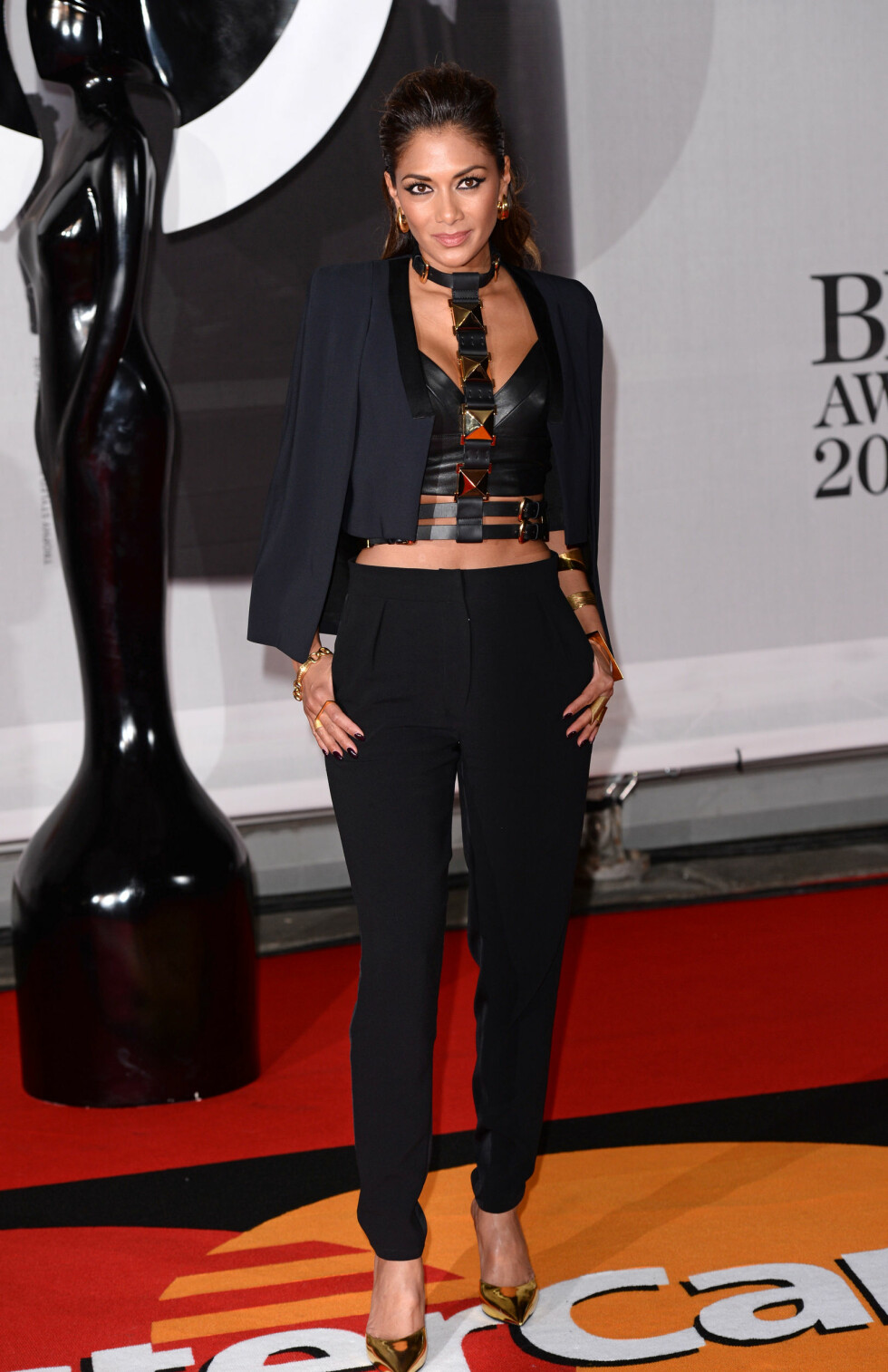 Popstjernen Nicole Scherzinger (35). Foto: REX/David Fisher/All Over Press
