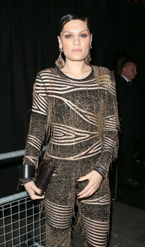 UTEN LEPPESTIFT: Slik er vi vant til se Jessie J. Foto: WeirPhotos / Splash News/ All Over Press