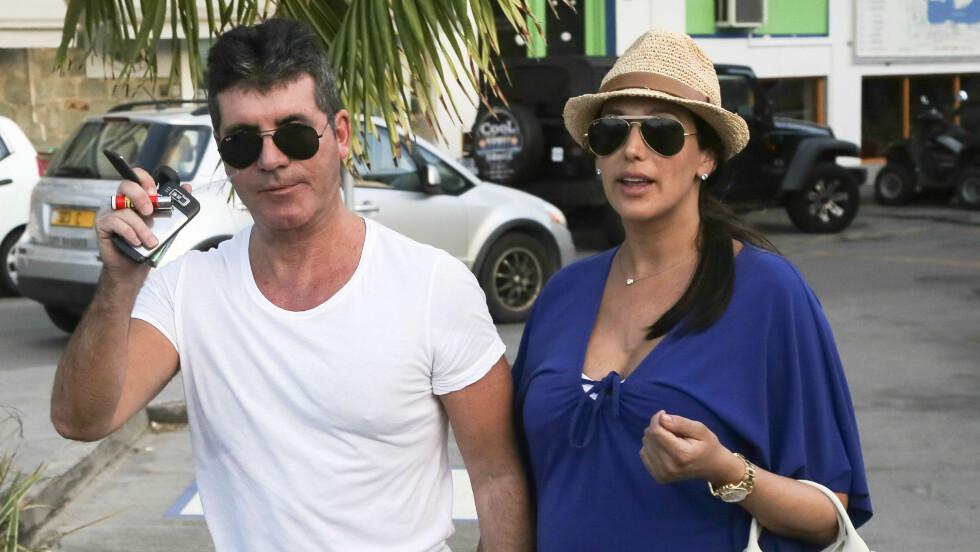 BLIR FORELDRE: Simon Cowell og Lauren Silverman blir foreldre i slutten av februar. Foto: FameFlynet