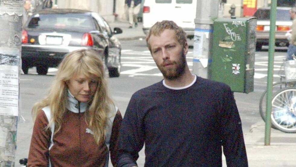 GODT GIFT: Gwyneth og Chris Martin har vært gift i over ti år og har to barn sammen. I sommer flyttet paret til Los Angeles. Foto: All Over Press