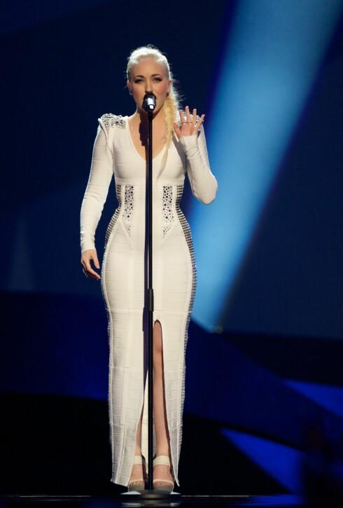 4. PLASS: I fjor tok Margaret Berger en fjerdeplass under Eurovision-finalen i Malmø.  Foto: All Over Press