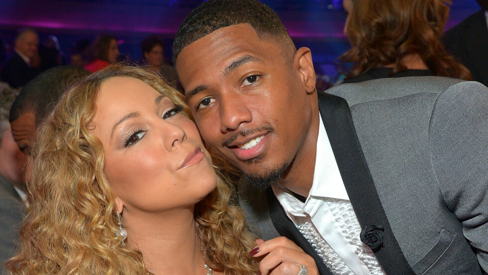 LYKKELIGE: Mariah Carey og ektemannen Nick er fortsatt like forelsket. Paret giftet seg i 2008.  Foto: All Over Press