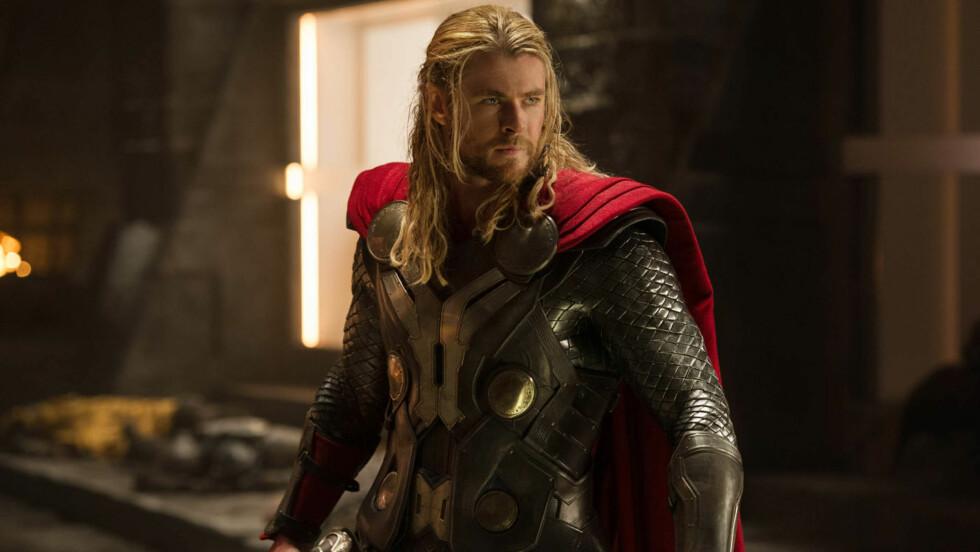 SUPERSTJERNE: Chris Hemsworth er best kjent som superhelten Thor fra filmene med samme navn Foto: Stella Pictures