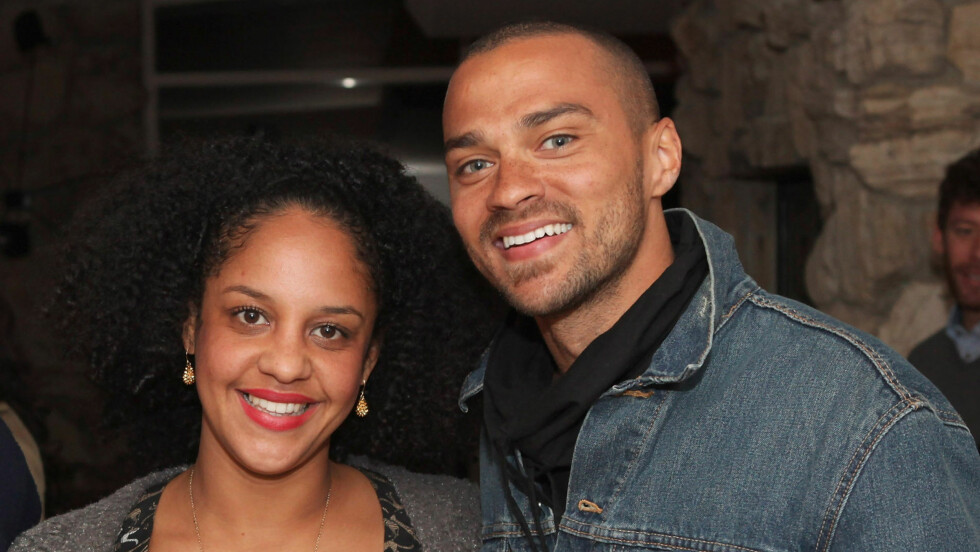 BABYLYKKE: Jesse Williams og kona Aryn Drake-Lee ble i desember foreldre til en liten datter.  Foto: All Over Press