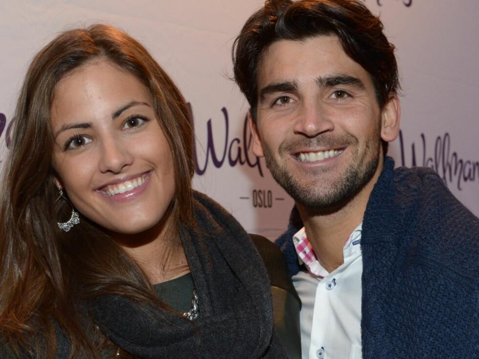 EKS-PAR: Samantha har tidligere vært sammen med TV 2-danser Tom Erik Nilsen. Foto: Stella Pictures