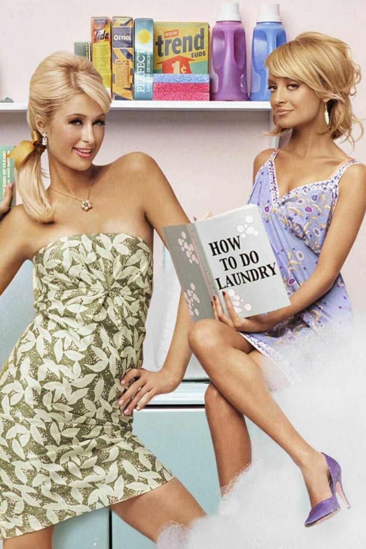 TV-STJERNE: Nicole Richie hadde suksess sammen med Paris Hilton i TV-serien «The Simple Life» Foto: AP/Scanpix