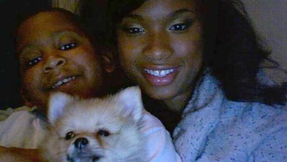SAVNER NEVØEN: Syv år gamle Julian King ble brutalt drept, og tanten Jennifer Hudson ønsket ikke å være tilstede når åstedsbildene ble vist under rettssaken.  Foto: All Over Press