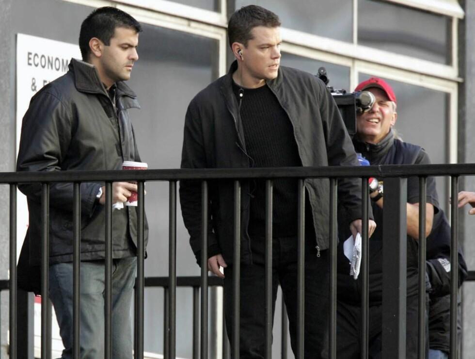 BOURNE AGAIN: Matt Damon er klar for en tredje film om agent Jason Bourne. Foto: Stella Pictures