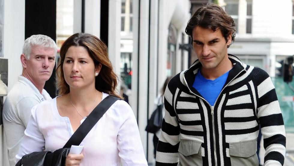 AVSLØRTE BABYNYHET: Roger Federer avslørte på julaften at han og kona Mirka venter sitt tredje barn. Foto: Stella Pictures