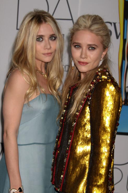 POPULÆRE: Mary-Kate og Ashley Olsen er USAs mest kjente kvinnelige tvillingpar. Foto: Stella Pictures