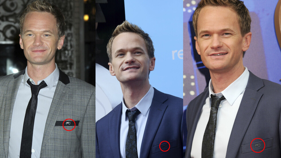NORSK DESIGN: Gjentatte ganger har den amerikanske skuespilleren Neil Patrick Harris, kjent fra TV-serien How I Met Your Mother, stilt i dresser fra Moods Of Norway. Foto: All Over Press / Stella Pictures