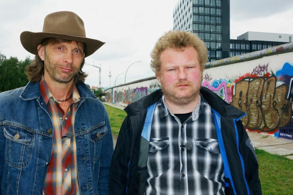 PÅ TUR - IGJEN: Denne artige duoen er endelig tilbake på skjermen! Foto: TVNorge/Kanal 5