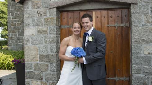 BOR SAMMEN IGJEN: Camilla Herrem og Steffen Stegavik giftet seg i sommer. Nå bor de sammen igjen. Foto: Stella Pictures