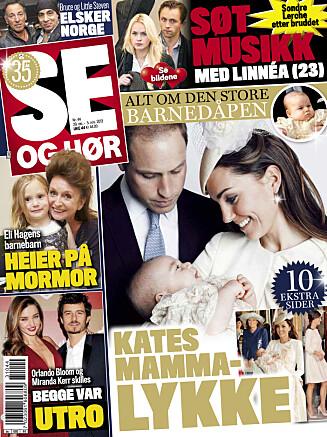 LES MER: I denne ukens Se og Hør kan du blant annet lese om hertuginne Kates mammalykke!