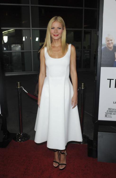 USKYLDIG: Vanity Fair hevder at Gwyneth Paltrow faktisk skal ha hatt et forhold med mangemilliardæren Jeff Soffer. Her fra en tilsteldning i Los Angeles i september. Foto: Stella Pictures