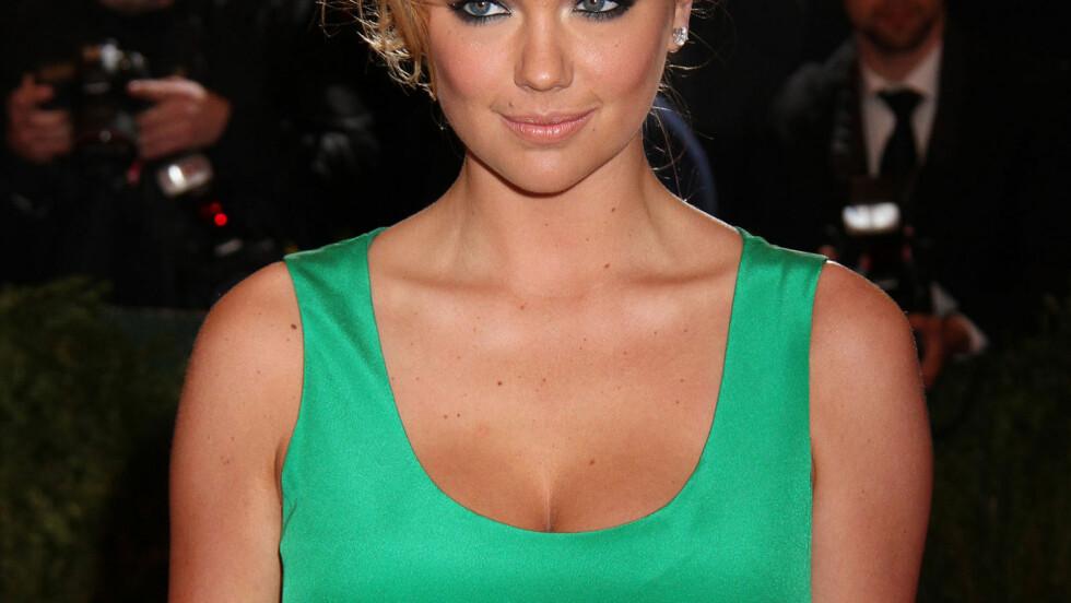 SUPERMODELL: Kate Upton er lykkelig forelsket i danseren Maksim Chmerkovskiy.  Foto: Stella pictures