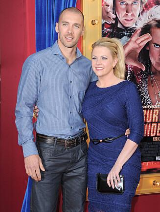 LYKKELIG GIFT: Melissa har vært gift med Mark Wilkerson i ti år.  Foto: Stella Pictures