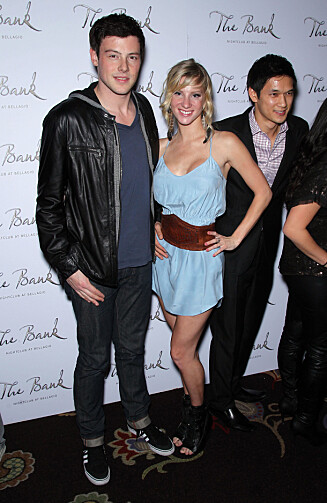 KOLLEGER: Heather Morris spilte mot Cory Monteith i «Glee», inntil han døde tidligere i år.  Foto: Stella Pictures