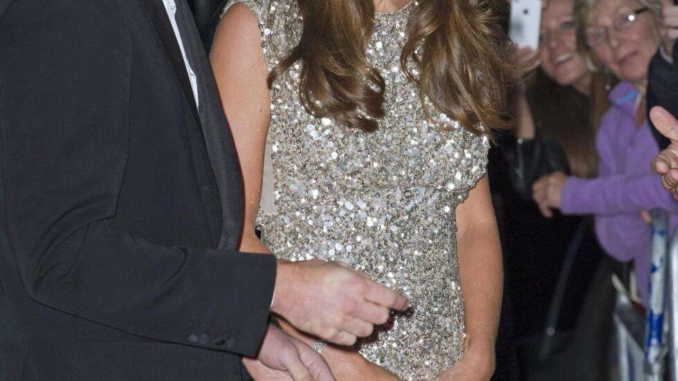 PERSONLIG VALG: Prins William, hertug av Cambridge, og hertuginne Catherine har valgt å døpe sønnen sin i samme kapell som prinsesse Dianas likvake ble holdt for 16 år siden. Dåpsdatoen - den 23. oktober - ble annonsert fredag. Foto: Stella Pictures