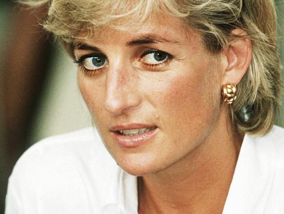 GAL?: Avdøde prinsesse Diana henges ut som galskapens prinsesse i ny bok. Foto: All Over Press