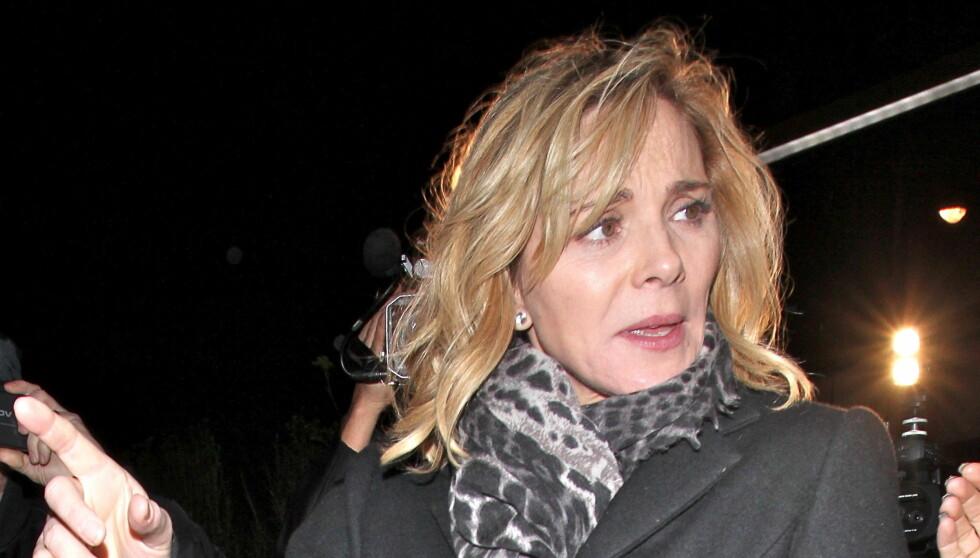 SLANKER SEG: «Sex- og singelliv»-skuespiller Kim Cattrall avslørte nylig at hun har slanket seg hele livet.  Foto: All Over Press