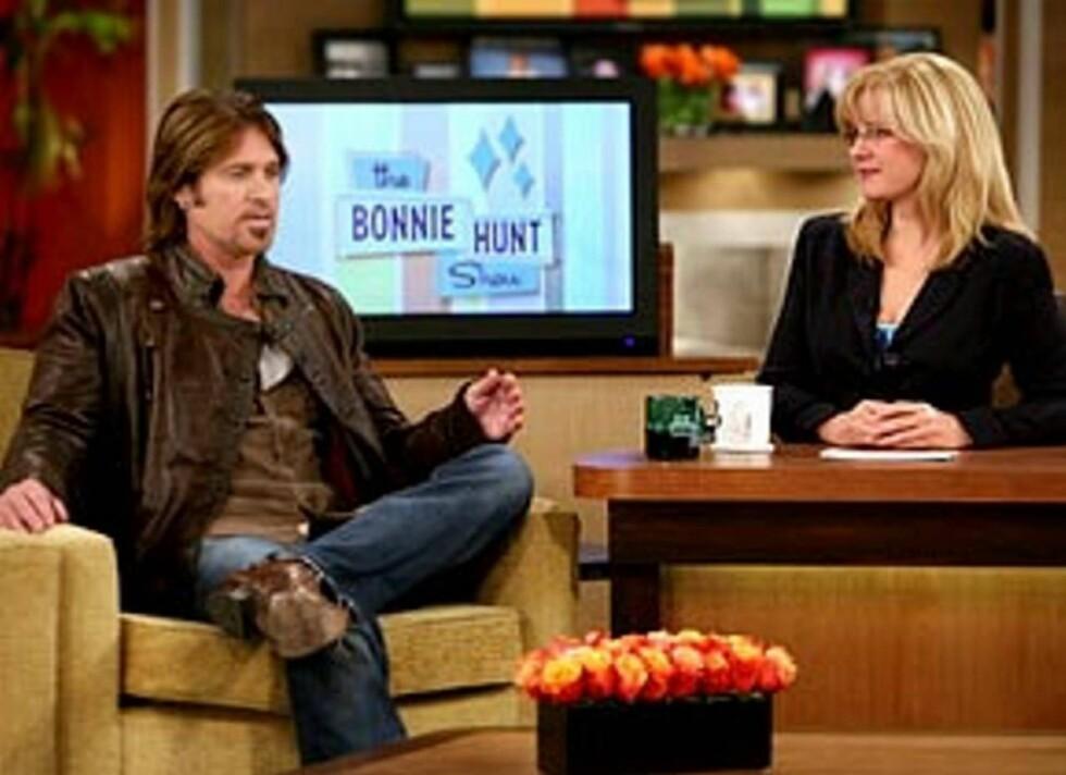 "SINT: Billy Ray Cyrus synes Jamie Foxx' uttalelser om datteren var svært sårende. Det sa han da han gjestet ""the Bonnie Hunt Show""."