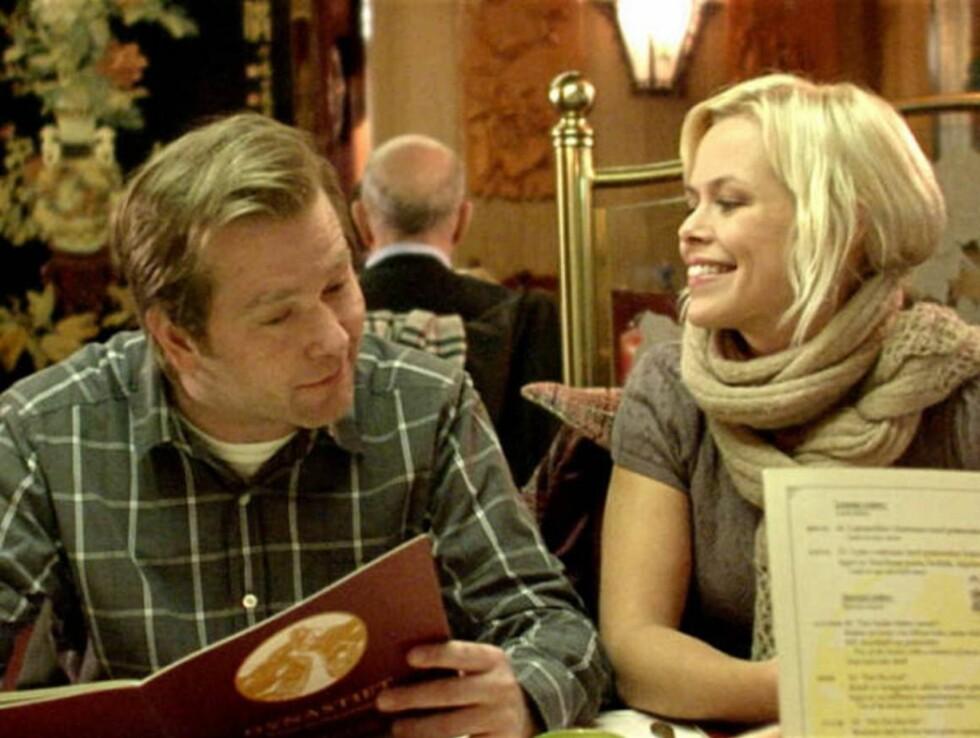 SKULLE SOVE SAMMEN: Regissør Matias Jordal ønsket opprinnelig at skuespillerne Fridtjof Såheim og Evy Kasseth Røsten skulle sove sammen en natt.
