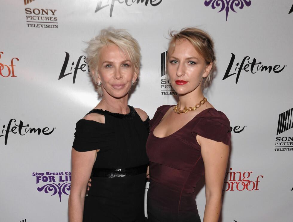 MICKEY SUMNER: Også Sting og Trudie Stylers andre datter, Mickey, jobber som modell.  Foto: All Over Press