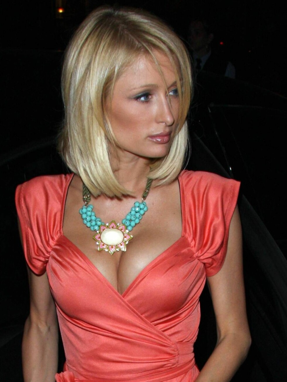 43. PLASS: Partyjenta Paris Hilton blir nok ikke helt fornøyd med sin plassering på listen... Foto: All Over Press