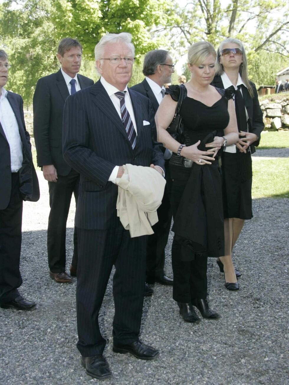 NRK-journalist Geir Helljesen sammen med datteren Ingvild. Foto: Stella Pictures