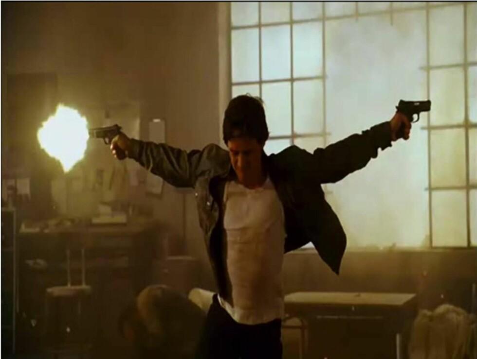 <strong>TRENES OPP:</strong> McAvoys rollefigur skal trenes opp slik at han kan ta hevn for sin fars død.  Foto: All Over Press