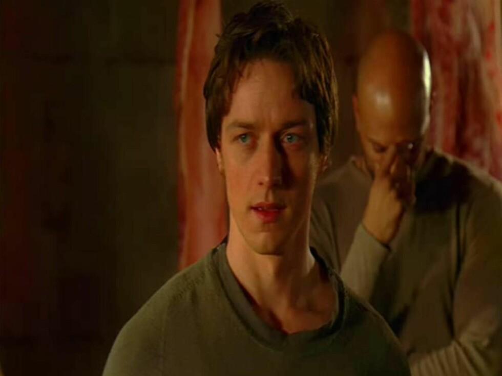 <strong>KJENTE FJES:</strong> I tillegg til McAvoy og Jolie, spiller også Morgan Freeman og Terence Stamp i filmen.  Foto: All Over Press