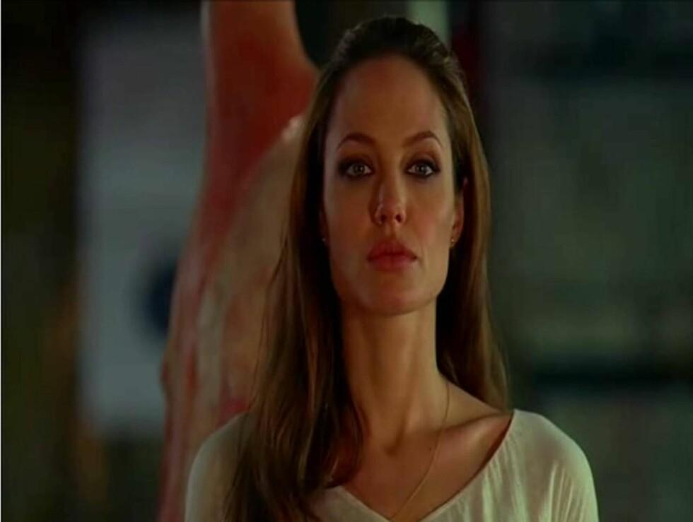 "<strong>SEXY:</strong> Nok en gang spiller Angelina Jolie en sexy leiemorder-rolle ala ""Mr. and Mrs. Smith"".  Foto: All Over Press"