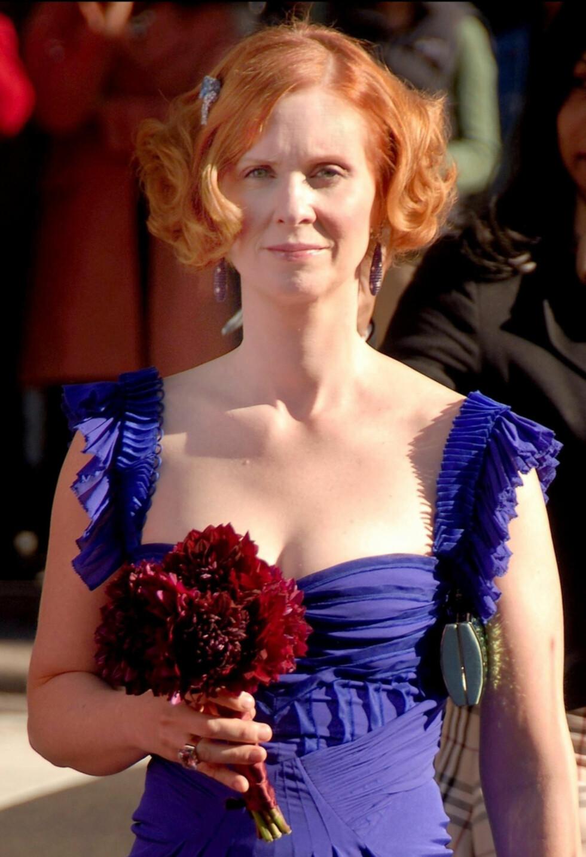 BRUD: I Sex og singelliv-filmen spiller Cynthia brudepike, nå skal hun selv stå brud. Foto: Stella Pictures