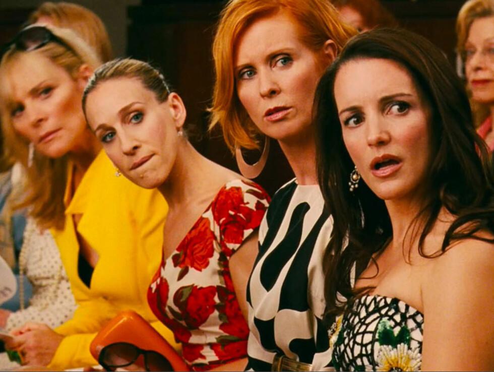 TILBAKE: Jentene sjokkerer igjen i den nye filmen.  Foto: All Over Press