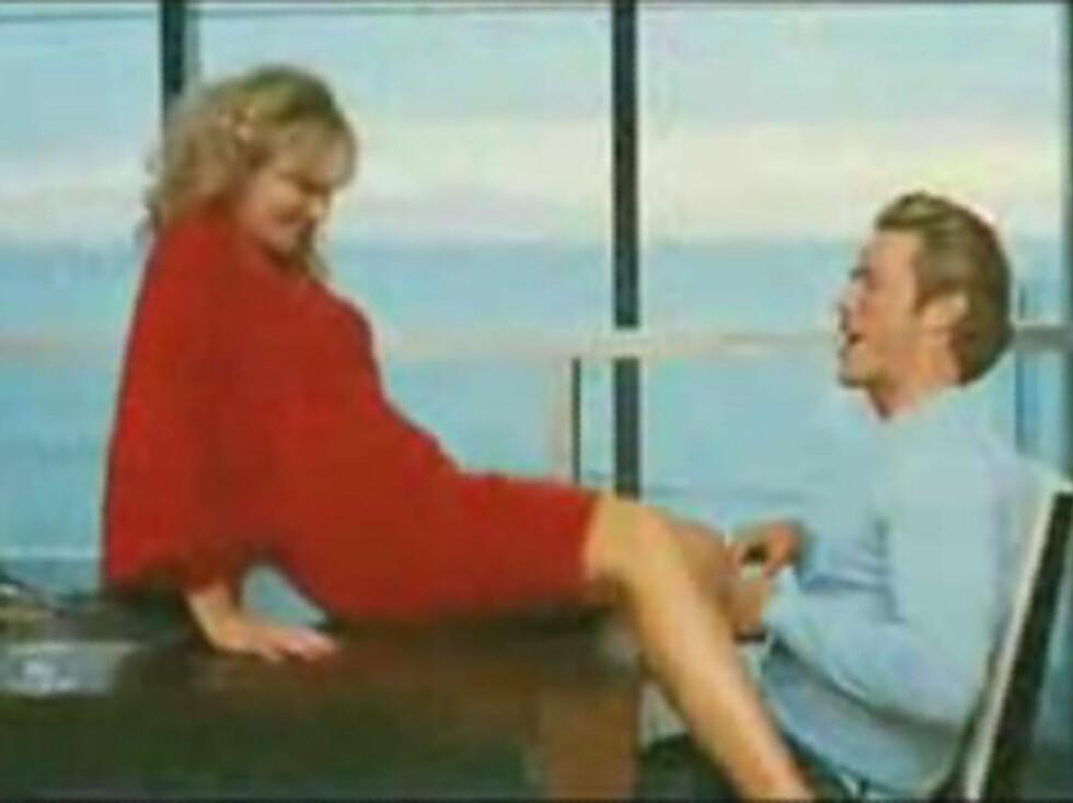 FORTSATT HETT: Samantha og Smith er fortsatt like forelsket. Foto: All Over Press