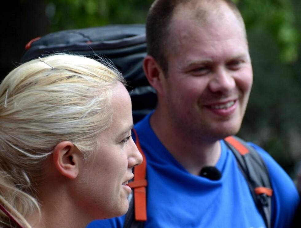 KOM LANGT: Til tross for at de endte sist på to andre etapper, karret Stian og Lill seg til en hederlig femteplass i årets Amazing Race. Foto: TV2