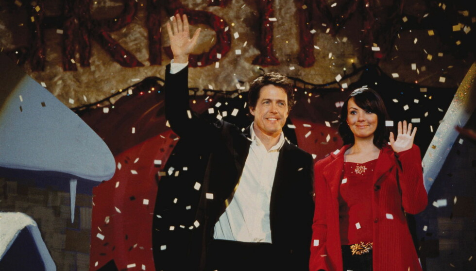 "VERDENSSTJERNE: Martine ble superstjerne over natten da hun spilte søte Natalie med Hugh Grant i den romantiske komedien ""Love Actually""."