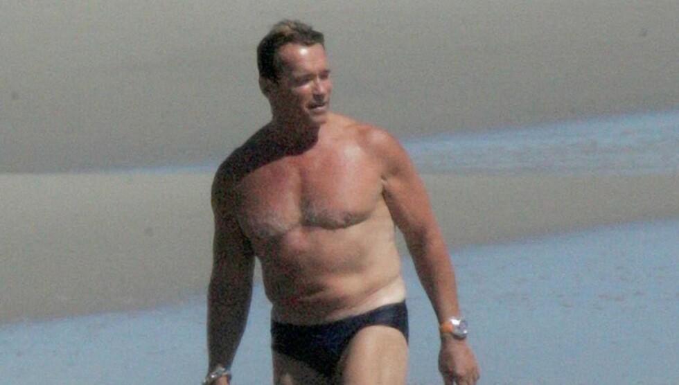 NY SKANDALE: To år etter at han måtte innrømme at han hadde fått en sønn i hemmelighet med sin hushjelp, har Arnold Schwarzenegger blitt dratt inn i en ny sex-skandale. Foto: Fame Flynet