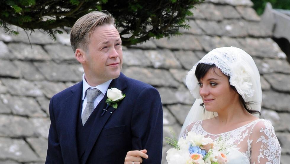 BABYLYKKE: Lily Allen og ektemannen Sam Cooper har blitt foreldre for andre gang.