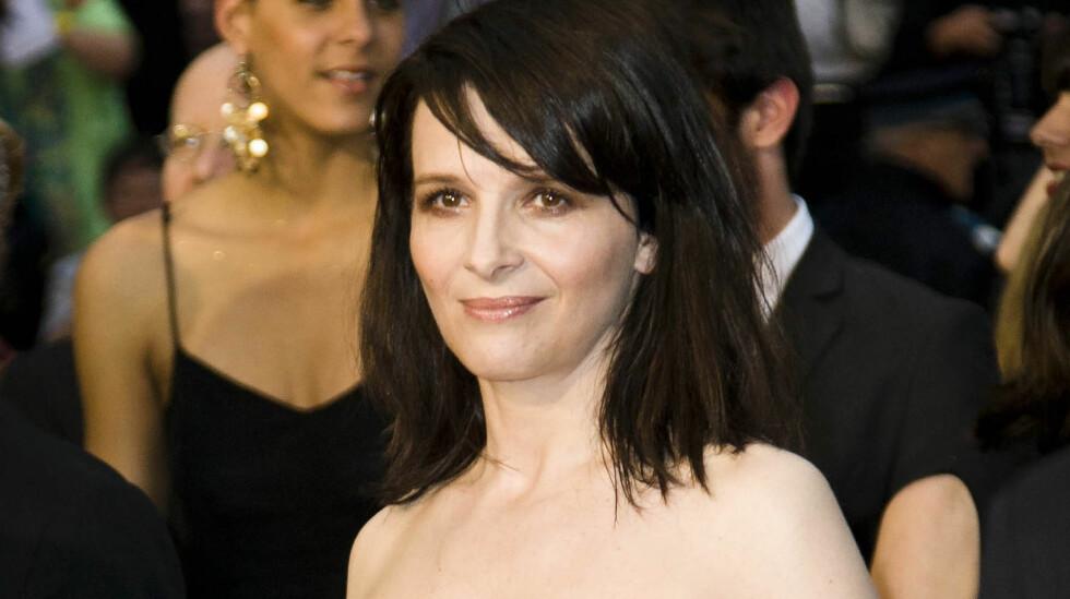 STJERNEHJELP: Den Oscarbelønnede stjernen Juliette Binoche spiller i den nye norske filmen «A Thousand Times Good Night».  Foto: All Over Press