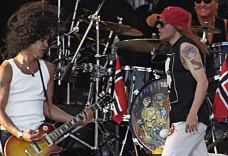 Guns N' Roses gjenforenes