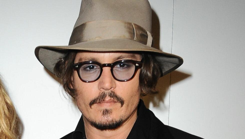 <strong>KONGELIG BLOD:</strong> En slektsforsker har funnet ut at Johnny Depp har et snev av kongelig blod. Foto: Stella Pictures
