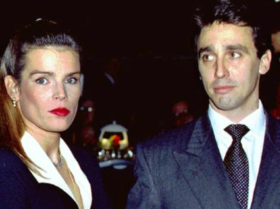 ** FILE** Princess Stephanie of Monaco arrives with her then companion Daniel Ducruet at an awards ceremony in Monte Carlo in this Dec. 9, 1994 file picture.The two were married in 1995 but the marriage lasted only 18 months, ending after he was photograp Foto: AP