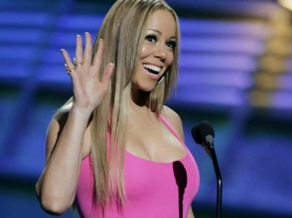 Singer Mariah Carey waves to the audience at the 2006 ESPY Awards in the Hollywood area of Los Angeles Wednesday, July 12, 2006. (AP Photo/Chris Carlson) Foto: AP