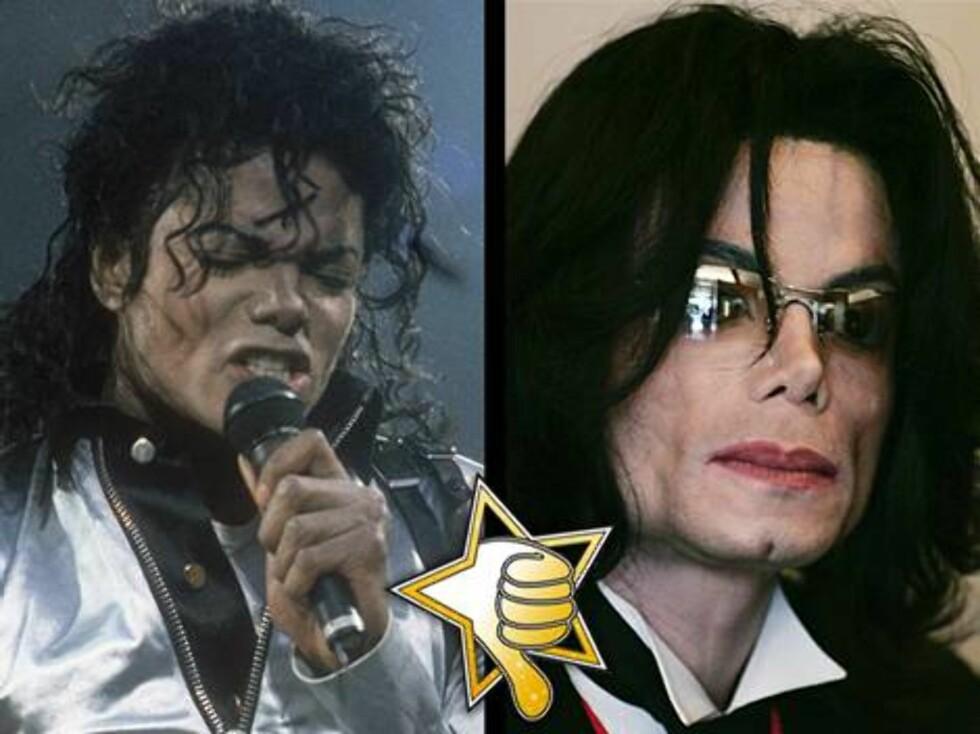 """""""WACKO"""" JACKO?: Selv om hudfargen har endret seg, ser Michael Jackson neppe lyst på livet etter pedofili-rettsaken."""
