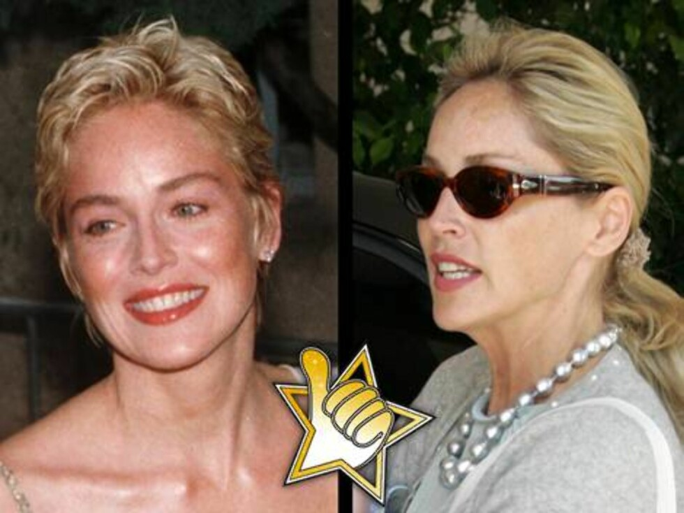 """BASIC INSTINCT: Sharon Stone gjorde comeback med """"Basic Instinct 2"""", og selv om filmen var så som så, virket skuespilleren sprekere enn noensinne!"""