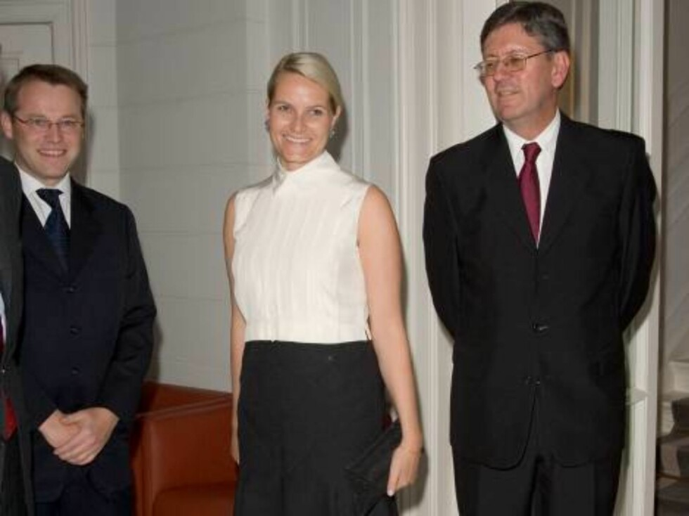 Crown Princess Mette-Marit of Norway visits Hamburg, Germany. Dinner at the Official Guest House of Hamburg, hosted by the Norwegian AMbassador. 17/10/06  Picture: UK Press  (ref 8265-AJ) Foto: All Over Press,  Antony Jones