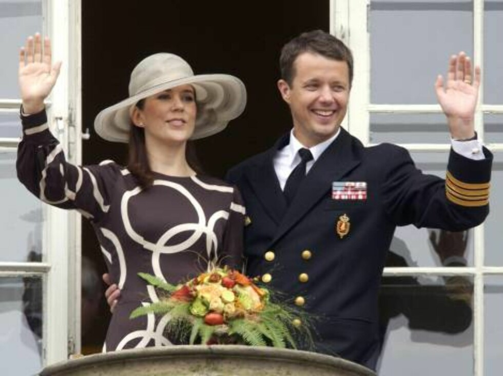 <strong>Code:</strong> UK- 6503-JP, ODENSE, DENMARK, 28.07.2004: CROWN PRINCE FREDERIK & CROWN PRINCESS MARY OF DENMARK VISIT ODENSE DURING A 4-DAY TRIP ON THE ROYAL YACHT DANNEBROG.28/7/04  All Over Press / UK Press / ALL OVER PRESS Foto: All Over Press