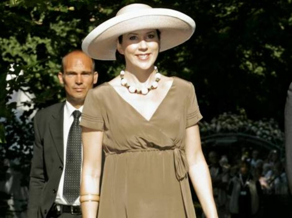 <strong>Code:</strong> UKXXX8 - 7276-MC, DENMARK, 19.08.2005: CROWN PRINCESS MARY OF DENMARK OPENS THE GARDEN LIVING FAIR AT FREDERIKSBORG CASTLE IN DENMARK. All Over Press / UK Press / ALL OVER PRESS Foto: All Over Press